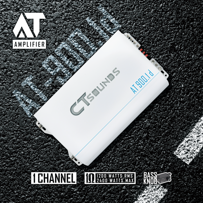 CT Sounds AT Series Car Audio Amplifiers