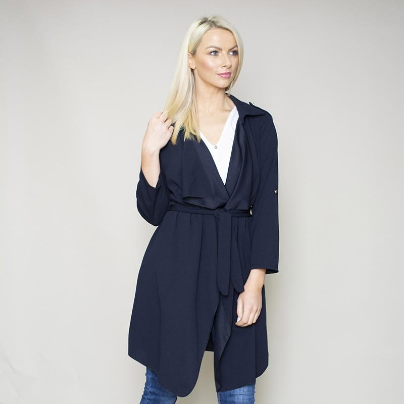 Jenny Waterfall Blazer (Navy)