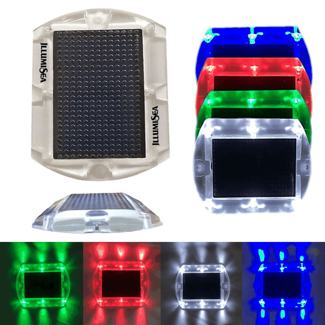 solar led dock lights
