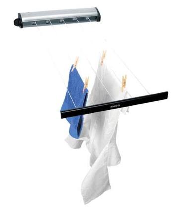 Brabantia indoor 22m retractable clothesline