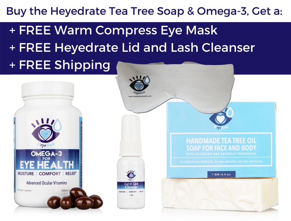 Heyedrate Dry Eye Relief Kit