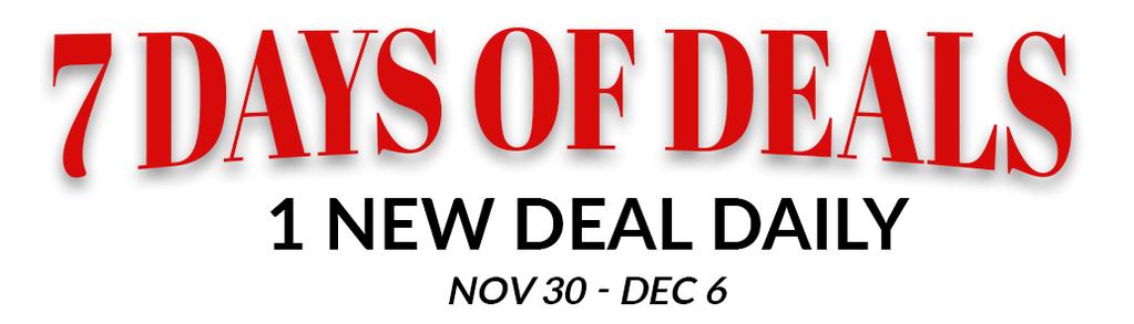 7 Days of Deals
