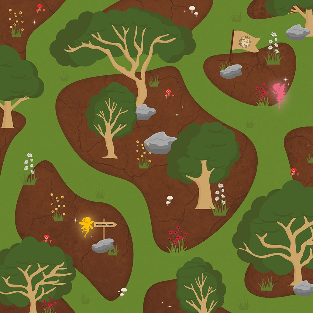 Magic Forest Playmat For Kids