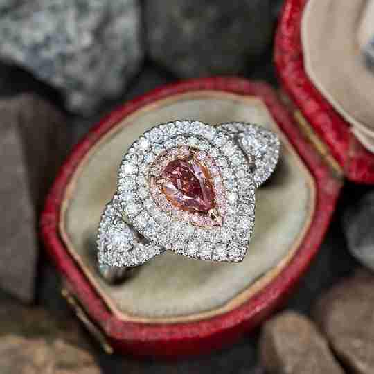 A vintage EraGem engagement ring