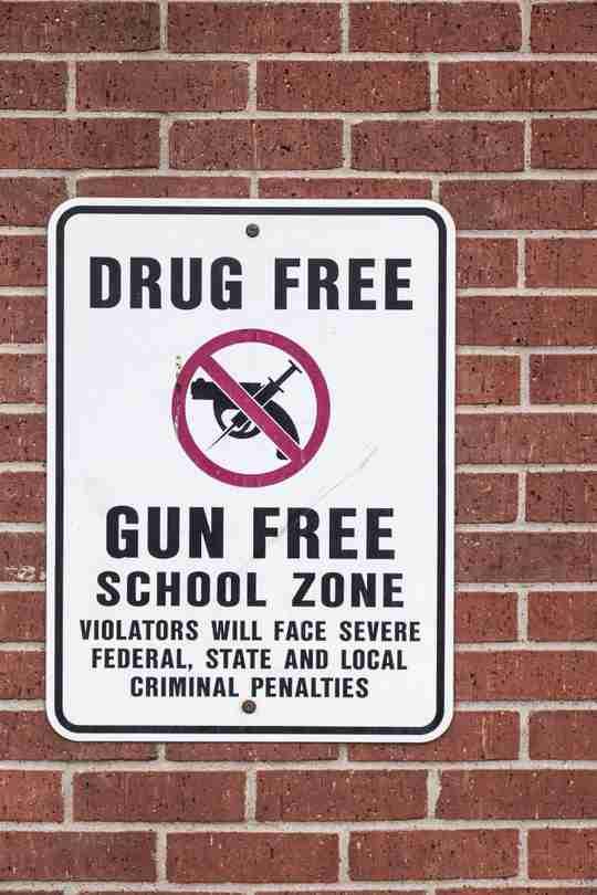 drug free and gun free zone