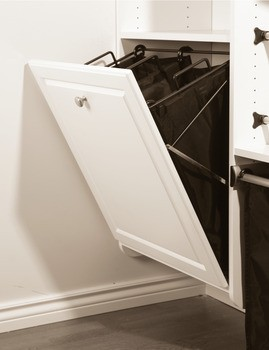 tilt out laundry basket