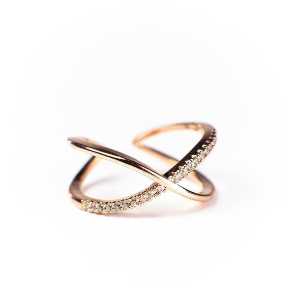 Nadia X Infinity Ring