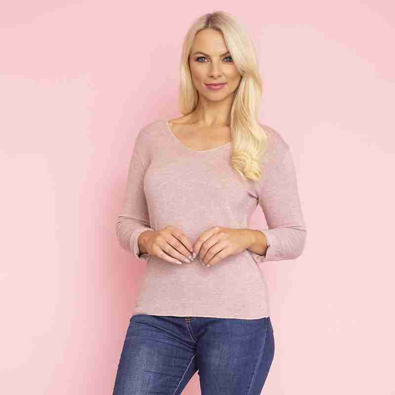Melody Jumper(Champagne Pink)
