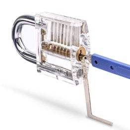 Lokko Best Lock Pick Set Opening Padlock with Tension Wrench