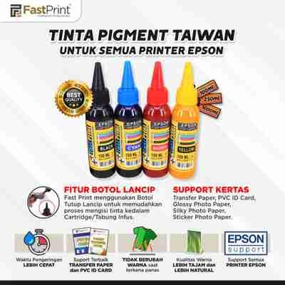 tinta pigment taiwan, tinta pigment transfer paper