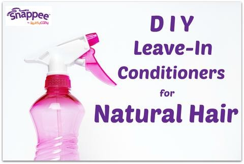 DIY Leave-In Conditioners for Natural Hair