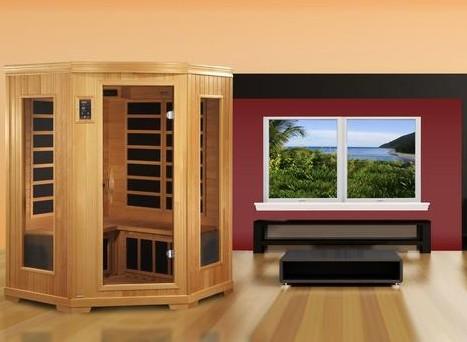 Indoor Sauna upstairs