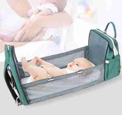 Portable Baby Crib Diaper Bag - Infant Kingdom