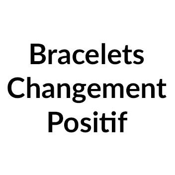 Bracelets Changement Positif