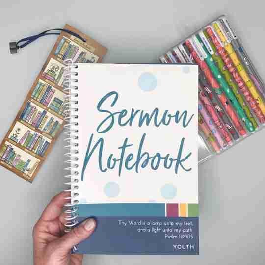 sermon notebook bundle