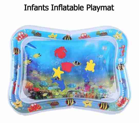 Baby Tummy Time Water Mat - Infant Kingdom