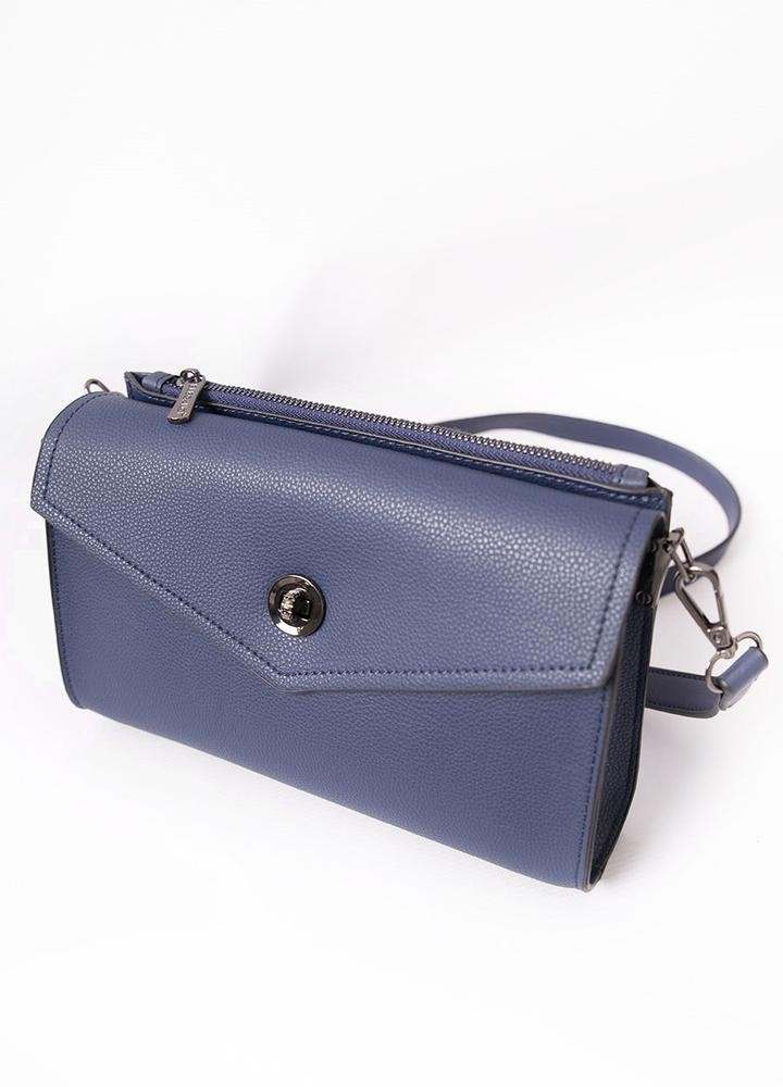 Envelope Clasp Cross Body Bag