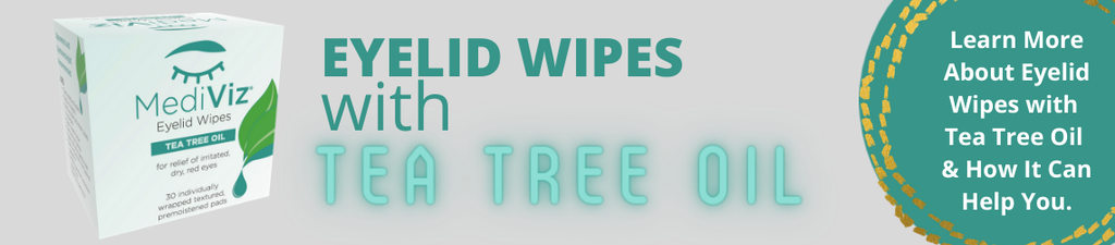 MediViz Tea Tree Eyelid Wipes