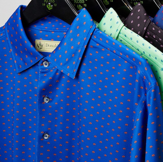 Donald Ross Classic Polo - Lotus Flower
