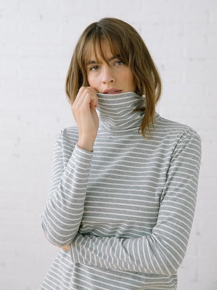 Monty Grey Stripe