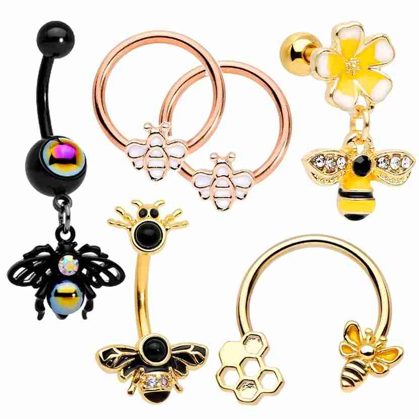 Bee Body Jewelry