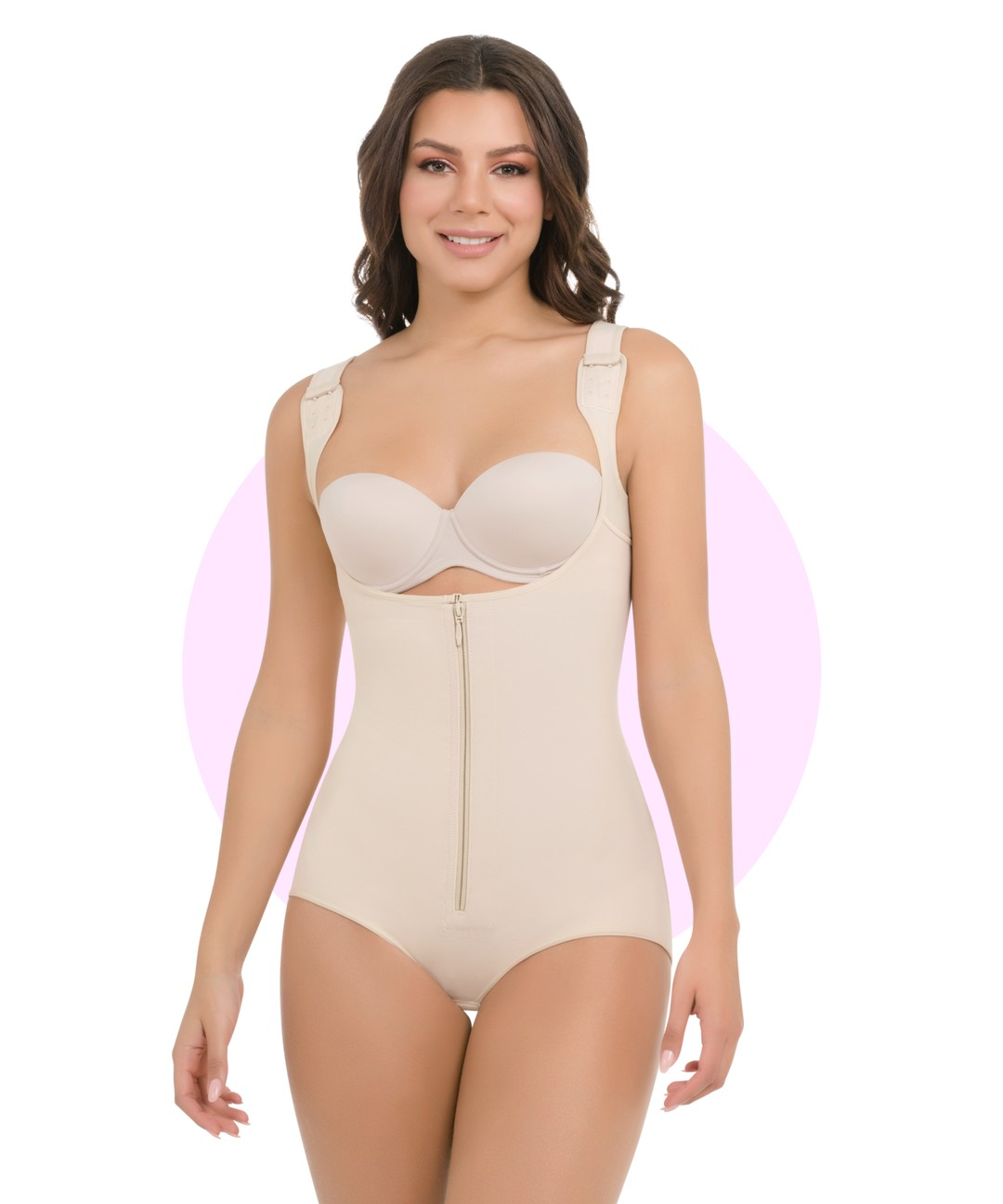 Thermal Body Shaper With Wide Straps - 385 style
