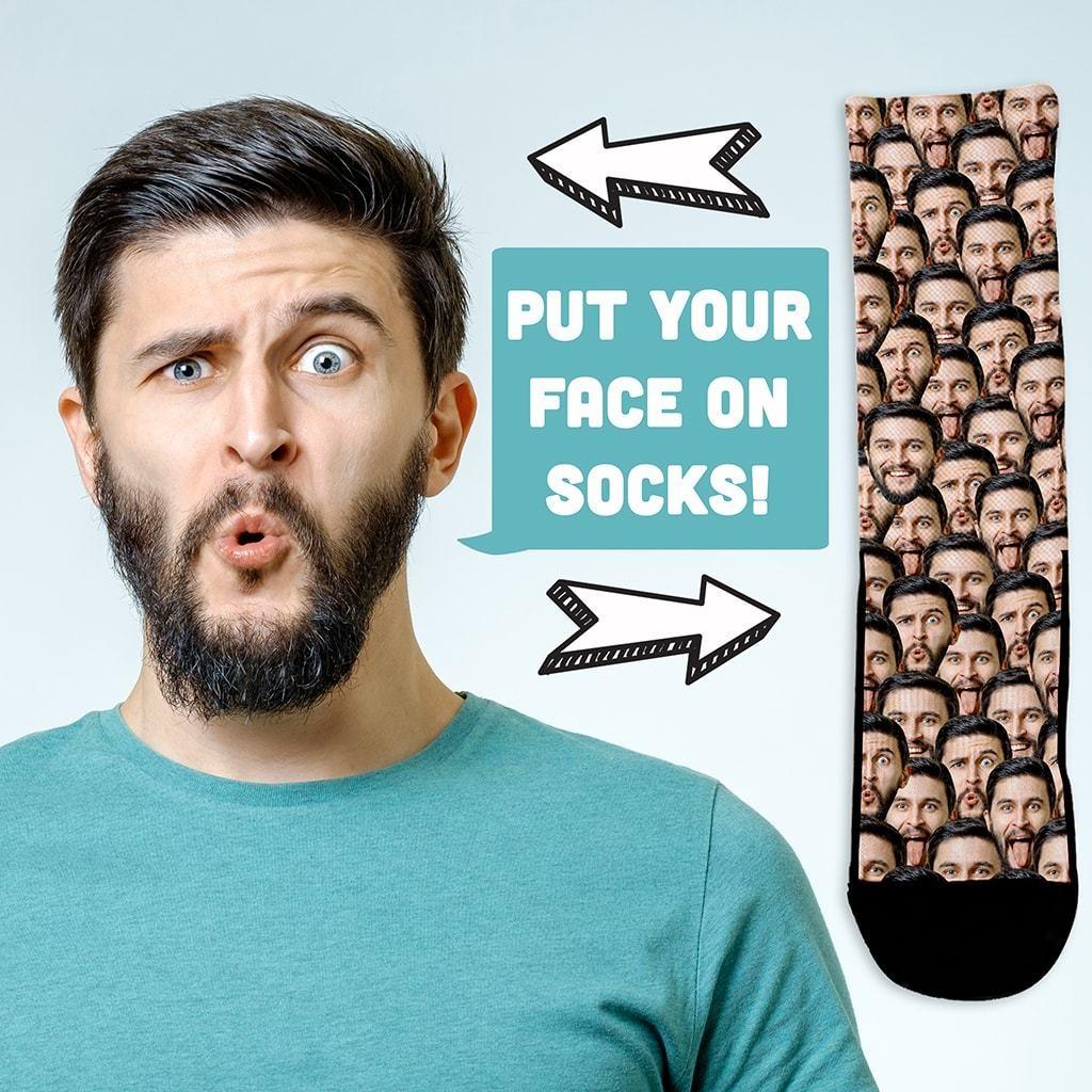 Custom Face Mash Socks