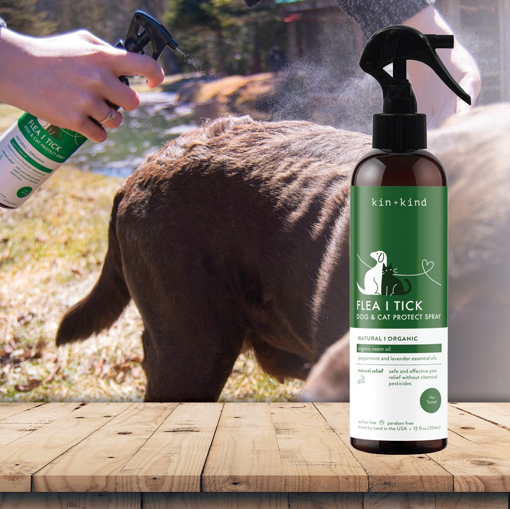 Kin + Kind's Flea and Tick Spray