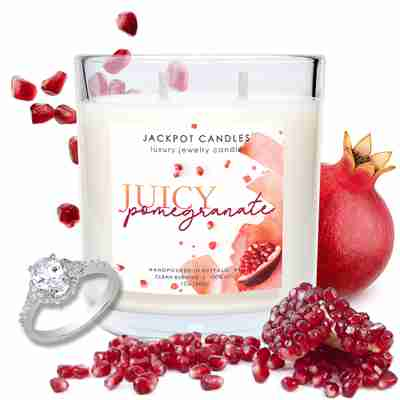 juicy pomegranate candle