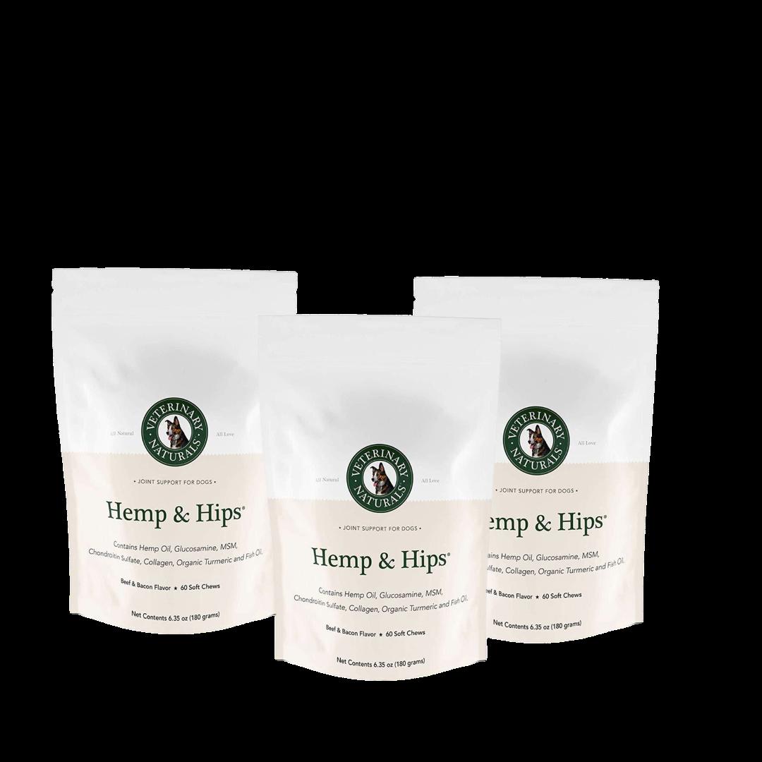 Hemp & Hips 3 Pack