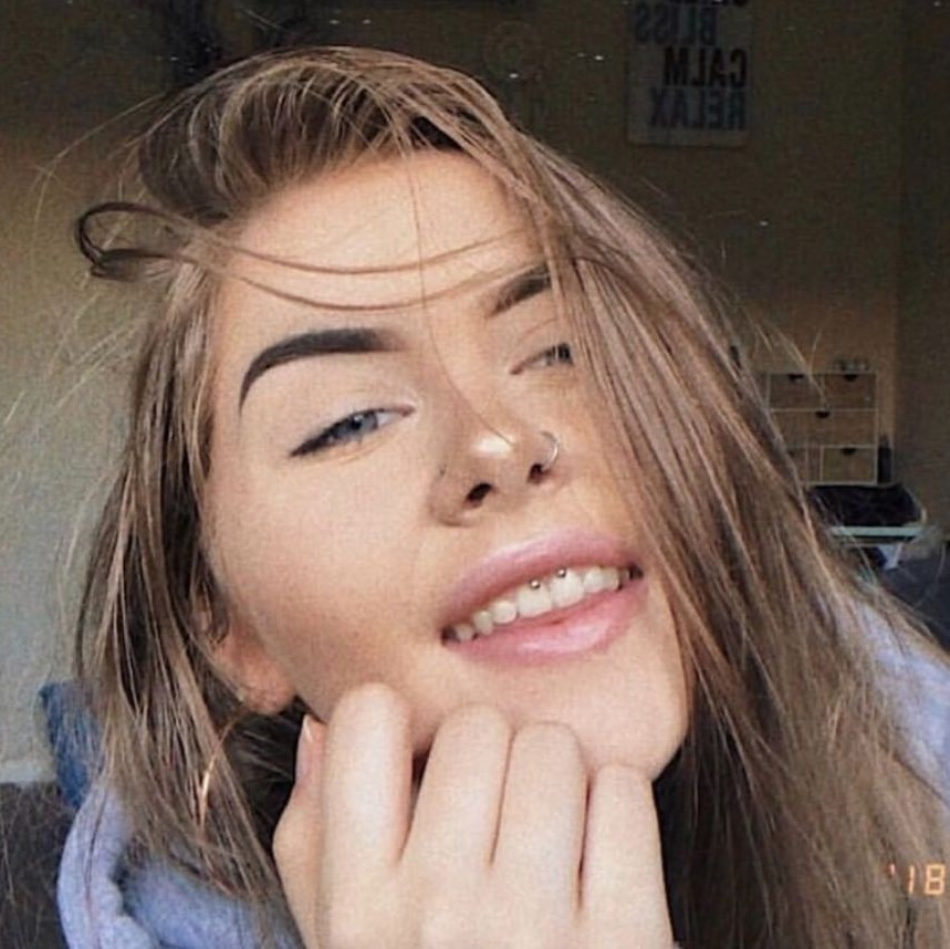 Girl with nose ring