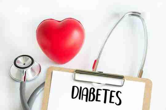 Diabetes Heart Stethoscope Corkboard