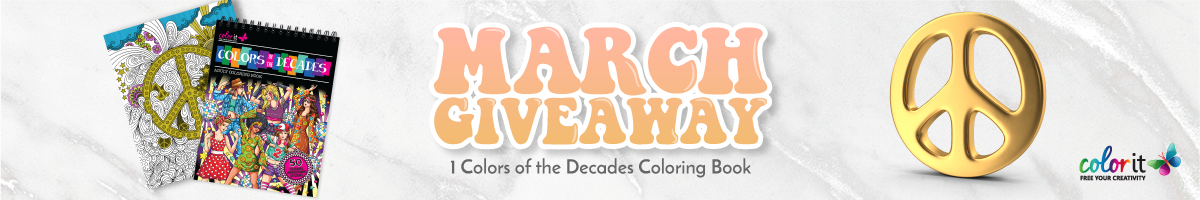 ColorIt March 2021 Giveaway
