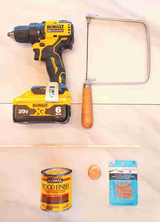 Candle Snuffer DIY materials