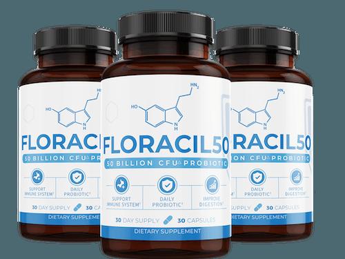 3 bottles of Floracil50