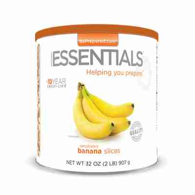 EE Dehydrated Banana Slices Large Can