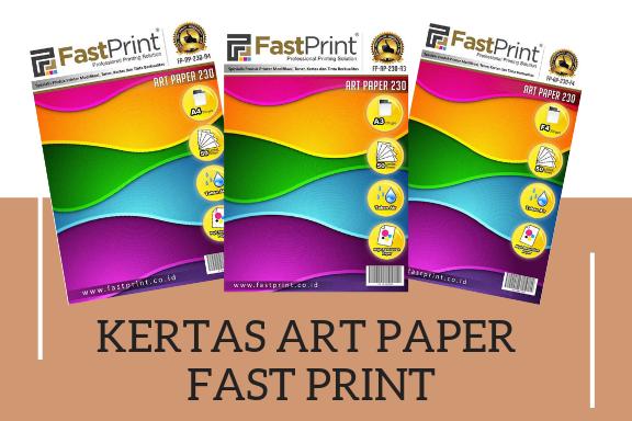 kertas art paper fast print