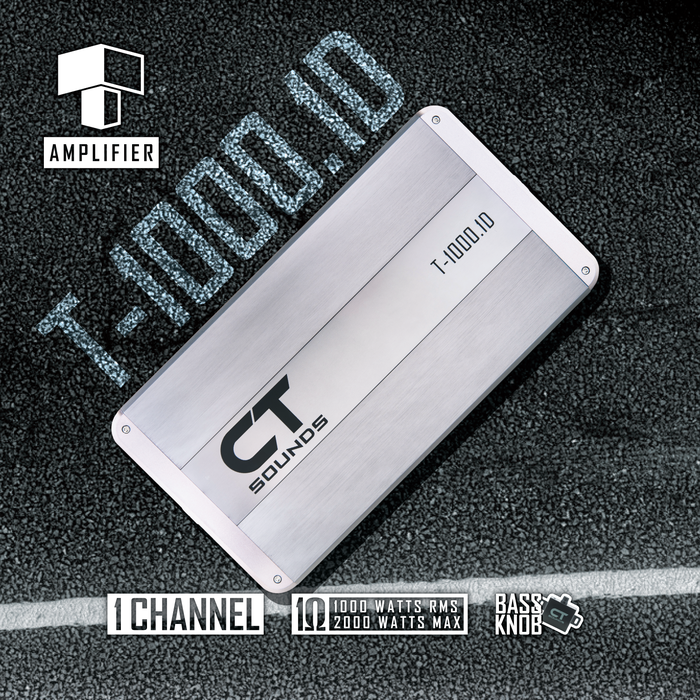 CT Sounds T Series Car Audio Amplifiers