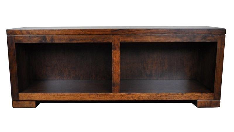 Fairfield Rustic Wood Storage Bench