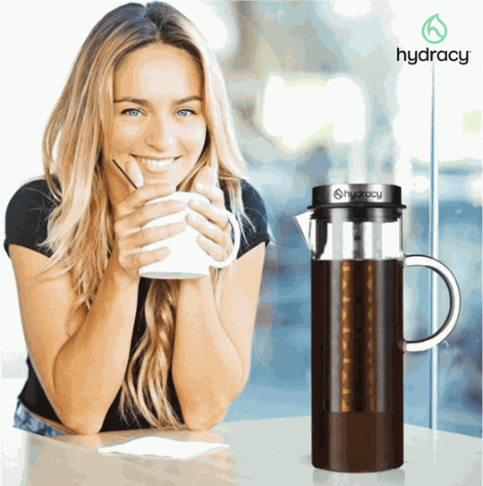 Glass Water Infuser Pitcher Hydracy Lifestyle