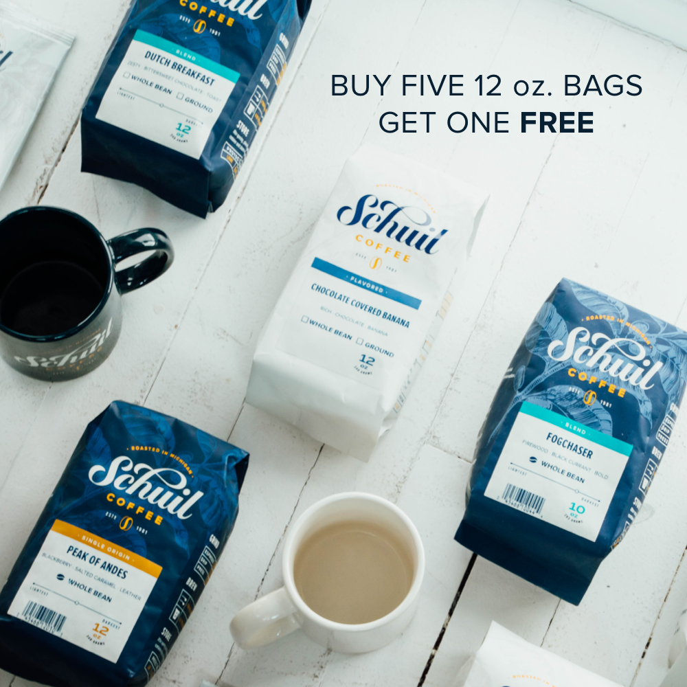 Schuil Coffee Buy Five Get One Free Mobile