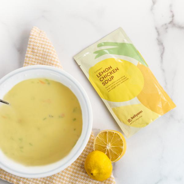 Dr. Kellyann lemon chicken soup