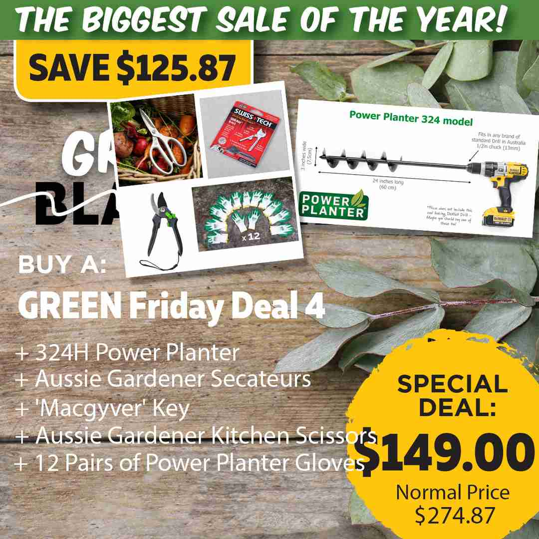 Green Friday Super Deal $247.87 value for just $149 - The biggest sale of the year.