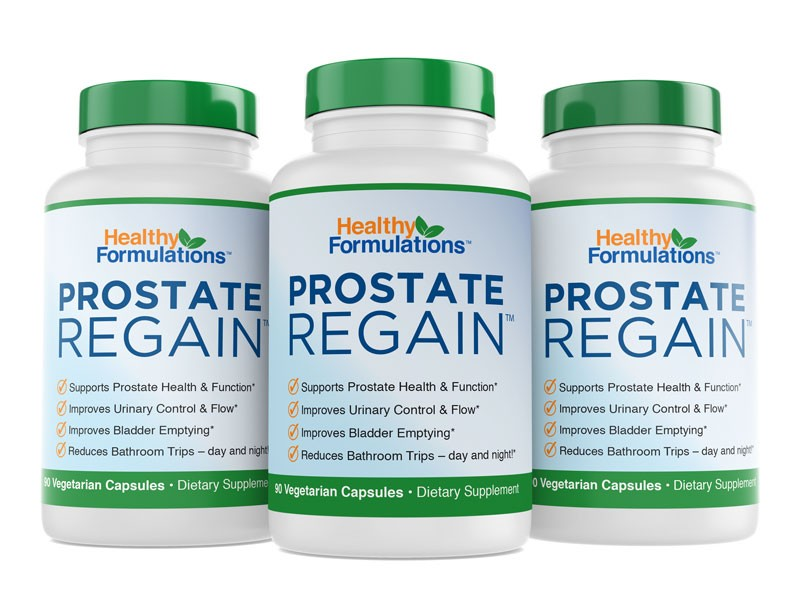Prostate Regain - Three Bottles