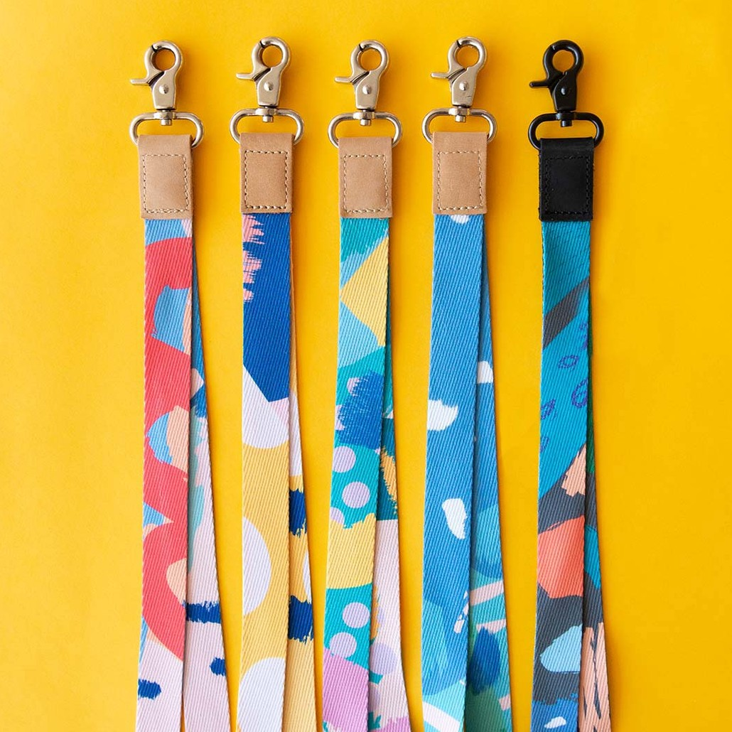 Ruby Olive Colourful Lanyards