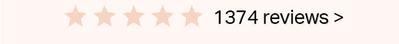 1374 reviews>