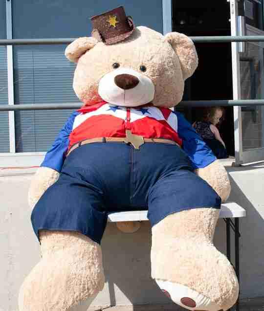Open house 2020 Big Tex bear