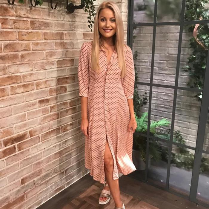 Pamela Shirt Dress (Pink)
