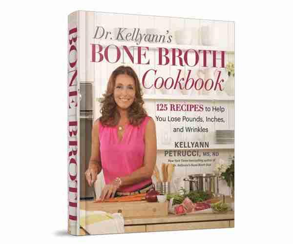 Cookbook de diète de bouillon d'os de Dr. Kellyann
