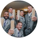 baseball bat mug groomsmen